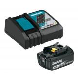 Makita 191A24-4 aku sada baterie 18V/3,0Ah + DC18RC nabíječka