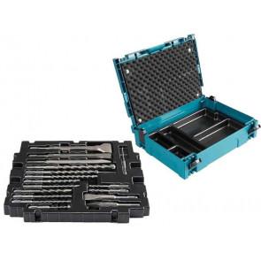 Makita B-52059 - sada vrtáků a sekáčů 17ks systainer SDS-Plus