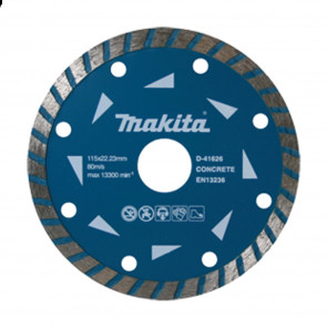 Makita D-41626-10 turbo diamantový kotouč  115x22,23mm  10ks=newD-41626