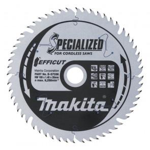 Makita B-57320 TCT pilový kotouč Efficut 165mmx20mm 56T