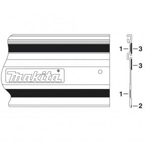 Makita 413101-9 kluzná páska k liště 1400mm