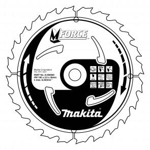 Makita B-07886 pilový kotouč  165x20 10 Z