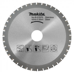 Makita B-07870 pilový kotouč nerez 185mm=new B-31669