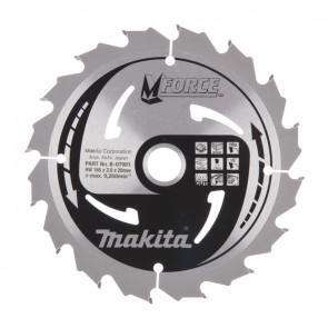 Makita B-07901 pilový kotouč 165x20mm 16T=old A-89626