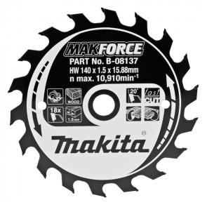 Makita B-08137 pilový kotouč 140x15,88mm 18T