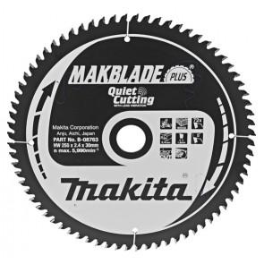Makita B-08763 pilový kotouč 255x30 72 Z