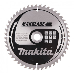 Makita B-08953 pilový kotouč 190x20mm 48T = old A-86751