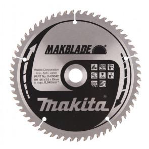 Makita B-09042 pilový kotouč 190x20 60 Z = old A-86359