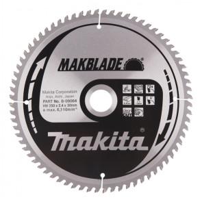 Makita B-09064 pilový kotouč 250x30 72 Z