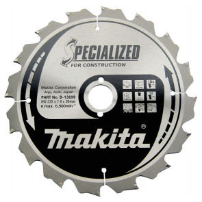 Makita B-13699 pilový kotouč Konstrukt 235x30 16T