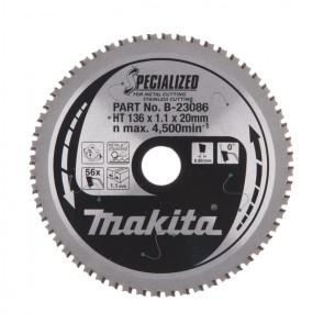 Makita B-23086 pilový kotouč (56Z) 136x20 mm