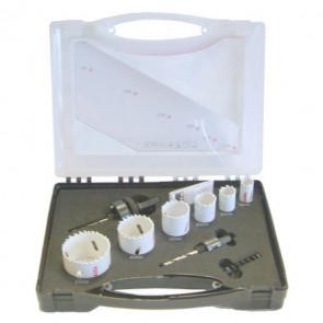 Sada vrtacích korunek - sada pro elektrikáře D-16944