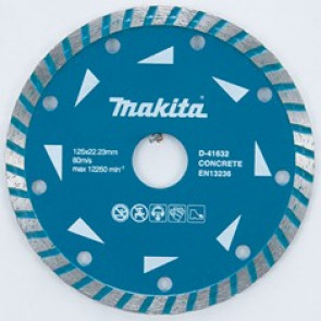 Makita D-41632 turbo diamantový kotouč 125x22,23mm