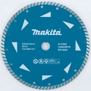 Makita D-41654 turbo diamantový kotouč  230x22,23mm