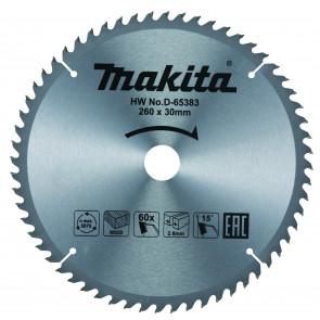 Makita D-65383 pilový kotouč 260mm x 30mm x 60T
