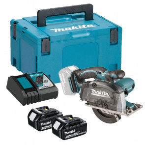 Makita DCS552RTJ 2xaku baterie 5,0Ah, rychlonabíječka, Makpac