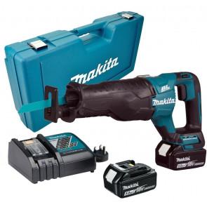 Makita DJR187RTE 2xaku baterie 5,0Ah, rychlonabíječka, kufr