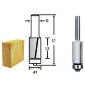 Makita D-47721 Drážkovací fréza 2 břit s ložiskem 9,5x26x67