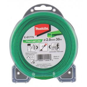 Makita E-01775 struna nylonová 2,0mm, zelená, 30m, speciální pro aku stroje