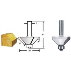Makita D-48692 Fazetová/hranová fréza s ložiskem 45°