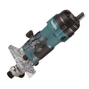 Makita 3711 Jednoruční frézka 6mm,530W