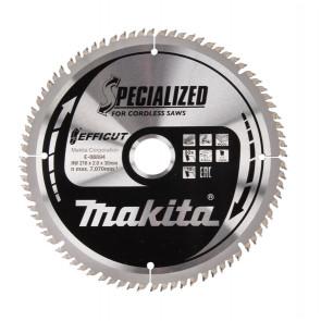 Makita E-08894 TCT pilový kotouč Efficut 216mmx30mm 80T