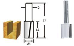 Makita D-47547 Drážkovací fréza 2 břity 12x19x51