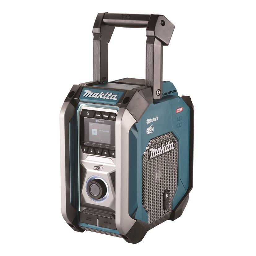 Makita MR007GZ Aku rádio DAB, Bluetooth Li-ion CXT, LXT, XGT,12V-40V Z